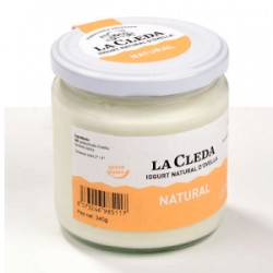 iogurt natural d'ovella 340 ml La Cleda