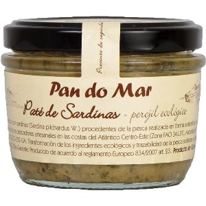 paté de sardina amb julivert 125 g Pan do mar